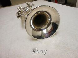 Bach Stradivarius Trumpet Year 1978 Modèle 37 Excellent État Plaqué Argent