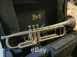 Bach Trompette Stradivarius 4 Becs. Expédition 100 $ Numéro De Série 699095