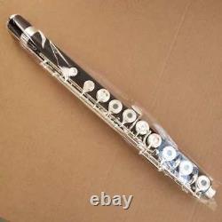 Bande Professionnelle Ebony Flûte C Key 17 Ouvrir Le Trou Low B