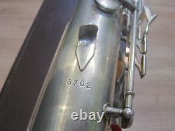 Bariton Sax Weltklang Rda Allemagne, Restaurée, Faible A