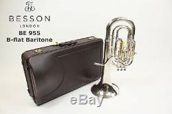 Baryton Besson Sovereign 955 En Argent Plaqué
