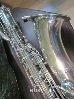 Baryton Saxophone Weltklang Rda Allemagne, Bas A