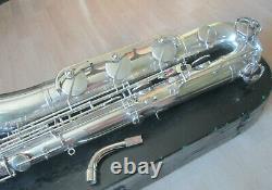 Baryton Saxophone Weltklang Rda Allemagne, Faible A