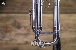 Benge 3 Trompette- Los Angeles Ca. Beautiful Silverplate Avec Hardshell Case