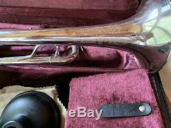Benge 3x Bb USA Trompette Avec La Conception Gravé