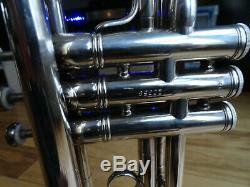 Benge Los Angeles 5x Trompette, Cas Original Et Bach Mount Vernon Mp 7 C