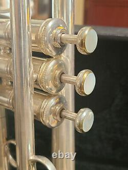 Benge Resno Tempéré 3 Bell Custom Built Silver Plate Trumpet Super Cond