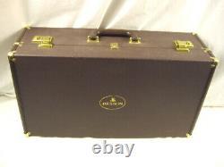 Besson 947 Souvenir Professionnel Silver Bb Flugelhorn Dual Triggers Nice