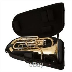 Brand New Jp374st En Argent Sterling Euphonium Trigger + Case Deluxe