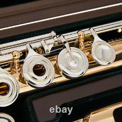 Brand New Pearl Flute Cd958 Rbe In. 958 Silver Withrose Gold Plaing Shipsfree