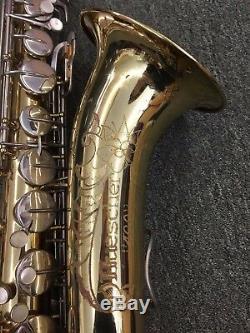 Buescher 400 Saxophone Ténor Vintage