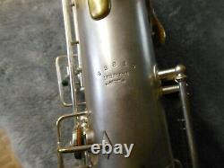 Buescher Ton Vrai, Pochoir, Saxophone Tenor, 1920