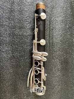 Buffet Crampon Clarinette Professionnelle Bb R13 Avec 18 Touches Argent Plaqué