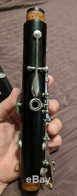 Buffet Crampon R13 Clarinette Sib Professionnelle Avec Touches Plaquées Argent