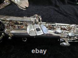 Buffet Crampon Senzo Red Brass Professional Model Alto Sax In Silver Plate