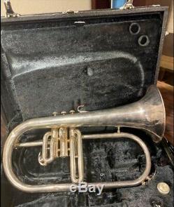 Bugle (occasion) État-731 Yfh Travail Bb Yamaha Avec Embout Buccal Et Cas