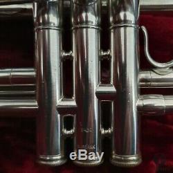 Burbank Par Modèle Tôt Kanstul, Trompette Cas Gamonbrass