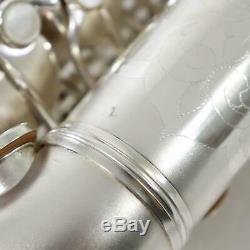 C. G. Conn F-mezzo Saxophone Sn 213726 Original Argent Plaque Gorgeous