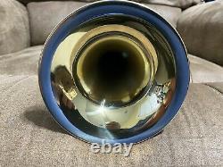 Callet Plaqué Or Studio Artist Gen II Bb Trumpet. 460 Bore 5 Bell. 348 Venturi