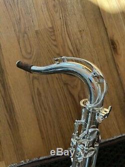 Cannonball Pro Sax Ténor Argent (chevalier) T1998 Haute F #