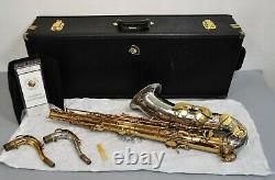 Cannonball Tenor T5 Saxophone Big Bell Stone Series Silver Gold Finish