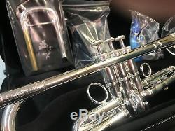 Carol Brass Ctr-5000l Professionnel-ylt-s Carolbrass Trompette Shilke / Yamaha Mis En Place
