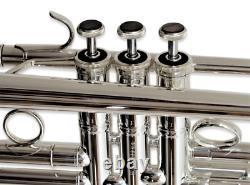 Carol Brass Professional Ctr-5000l-ylt Plaque D'argent Bb Trumpet 1/2 Prix De Xeno