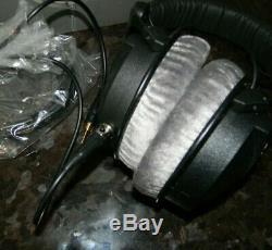 Casque D'écoute Beyerdynamic Dt 770 990 Pro, Service De Mise À Niveau Des Mod, Fils Plaqués Argent