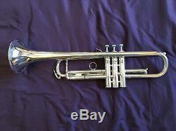 Chicago Benge Trompette ML Bore, Affaire Bach, Llewelyn Embouchure, Corne Pro