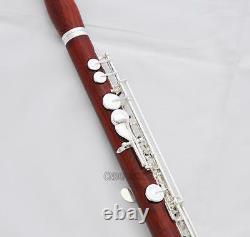 Coin De Tête Professionnel Européen C# Trill Flûte Rose En Bois B-foot Avec Boîtier Nouveau