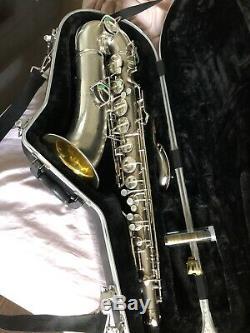 Conn 1930 Art Deco, Nouveau Saxophone Ténor Wonder II Chu Berry Avec Cloche En Or