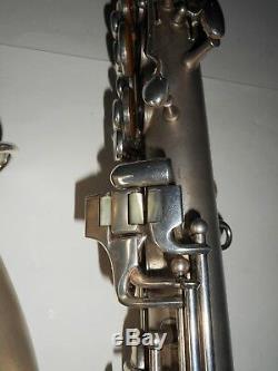 Conn Argent Plaqué C Melody Saxophone # 140190