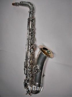 Conn Argent Plaqué C Melody Saxophone # 61555