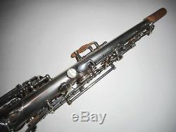 Conn Argent Plaqué C Soprano Saxophone # 118xxx
