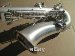 Conn Chu Berry Saxophone 1927 Circa Trous De Rt Joue Bien Avec Repad Récente
