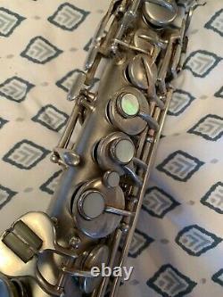Conn Chu Soprano Silver New Wonder II Soprano Saxophone
