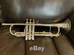 Conn Connstellation Trompette D'argent 38b Modèle