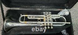 Conn Ss1 Severinsen Silver Plaqué Trompette Professionnelle. 460 Alésage, Vers Les Années 1980