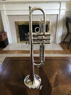 Conn Vintage One Trumpet 1bs-46 Argent Sterling Grand État