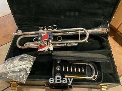 Conn Vintage Professionnel Bb Trompette One 1br-46 Brass Rose Bell Avec Extras