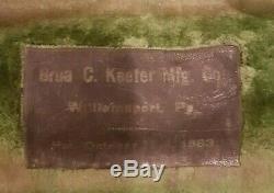 Cornet, Keefer, Bb, Plaque D'argent Et D'or Lavé 1917/1918