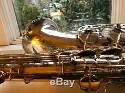 Cueillies À La Main De Michael Brecker Célèbre Selmer Série III Argent Tenor Saxophone