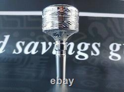 Culture Pi Hand Graved Tuba Single Cup Mouthpiece