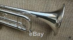 D. Calicchio Ultra 1s / 7 Grand Bore, Trompette Gamonbrass Silverplated