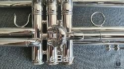 E. Benge Resno Trempé De Bell 3x Mlp, Trompette Los Angeles Calif Gamonbrass