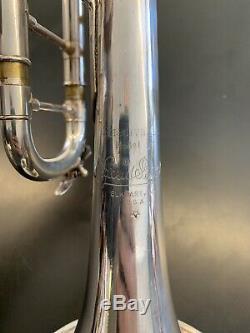 Fin Des Années 70 Bach Stradivarius Léger 37 Trompette Avec Blackburn Lead Pipe
