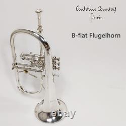 Flugelhorn A. Courtois Incl Nouveau Sac De Concert Et Porte-parole Livraison Gratuite