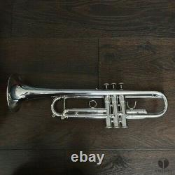 Français Besson De Kanstul Marvin Stamm 94bb, Boîtier Original Gamonbrass Trompette