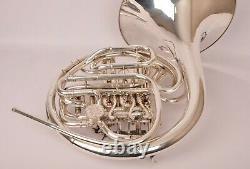Français Horn Alexander Modèle 103 Argent, Très Bon État! Expédition Rapide