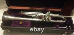 Frank Holton 1929 Modèle Llewellyn Trumpet En Mint Condition De Collectionneur Et De Lecture